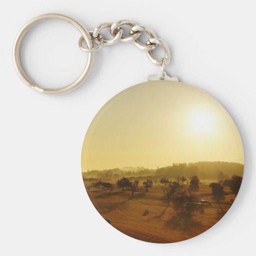 Sunrise Keychain