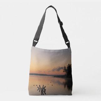 Sunrise Lake Crossbody Bag