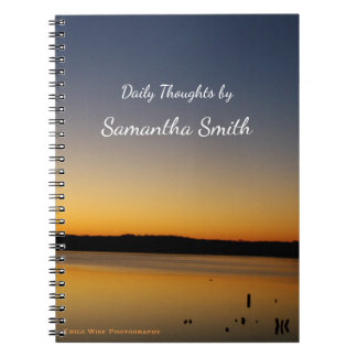 Sunrise Lake Notebook
