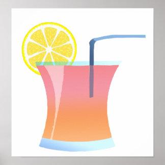 Sunrise Lemon Cooler Poster
