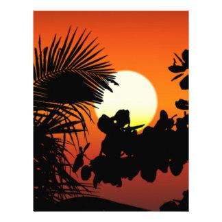 Sunrise Letterhead