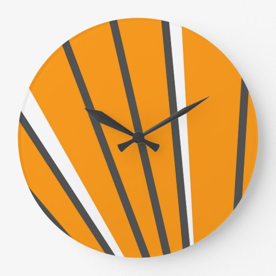 Sunrise Lines Clock by John Oven