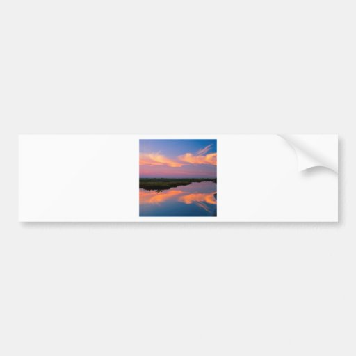 Sunrise Merritt Island Florida Bumper Sticker