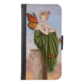 Sunrise Monarch Fairy Galaxy S6 Wallet Case