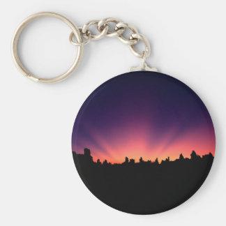 Sunrise Mono Eastern Sierra Key Chains
