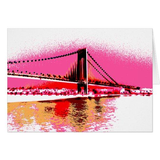 Sunrise Narrows card