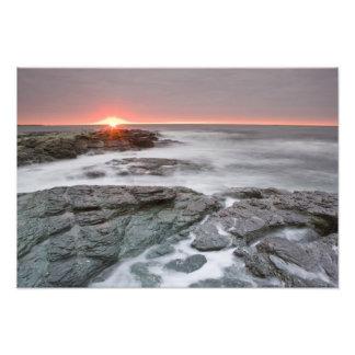 Sunrise near Brenton Point State Park on Ocean Photo Art