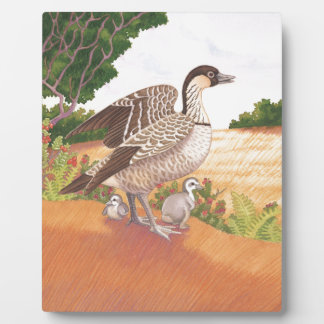 Sunrise Nene (Hawaiian Goose) Plaque