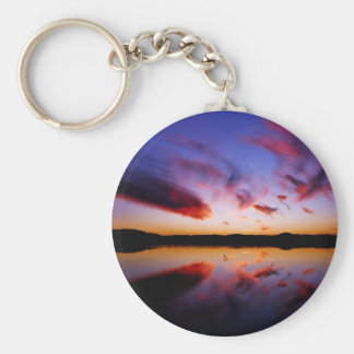 Sunrise Northern Tranquility Key Chains