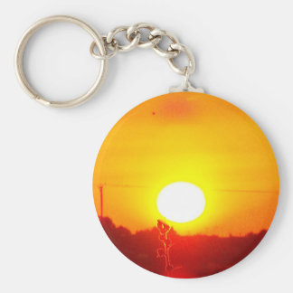 Sunrise Number 6 Key Chains