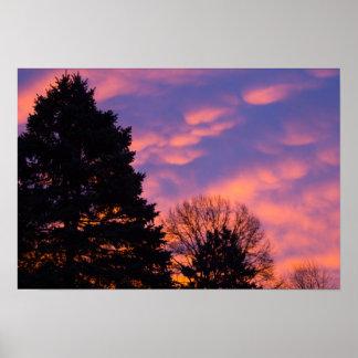 Sunrise, Ohio Poster