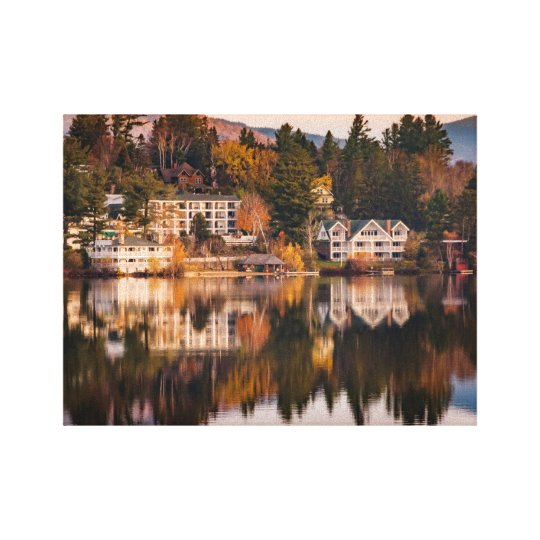 Sunrise on Mirror Lake Canvas Print