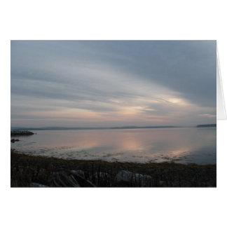 Sunrise on the Atlantic Card