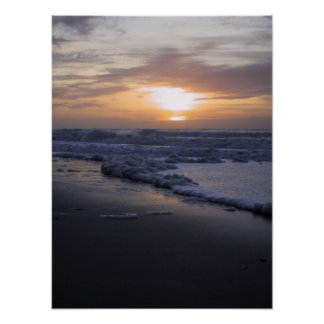 Sunrise on the Atlantic Ocean Poster