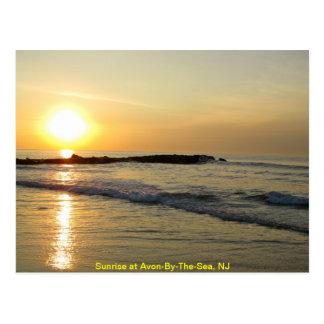 Sunrise on the Atlantic Postcard
