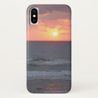 Sunrise on the Beach iPhone case