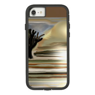 Sunrise on the Desert Southwest Abstract Art Case-Mate Tough Extreme iPhone 8/7 Case