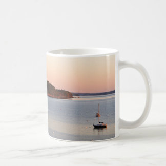 Sunrise on the Harbor Coffee Mug