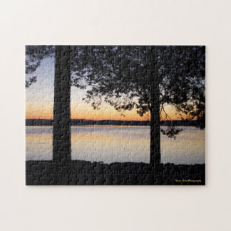 Sunrise on the Lake Jigsaw Puzzle