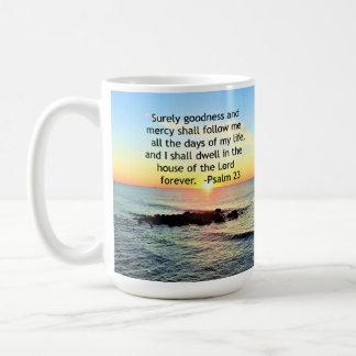 SUNRISE ON THE OCEAN 23RD PSALM PHOTO COFFEE MUG