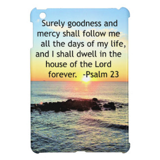 SUNRISE ON THE OCEAN 23RD PSALM PHOTO iPad MINI COVER