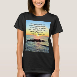 SUNRISE ON THE OCEAN 23RD PSALM PHOTO T-Shirt