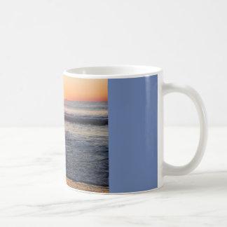 sunrise on the ocean coffee mug