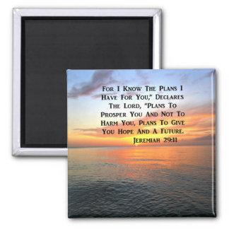 SUNRISE ON THE OCEAN PHILIPPIANS 4:13 SCRIPTURE MAGNET
