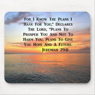SUNRISE ON THE OCEAN PHILIPPIANS 4:13 SCRIPTURE MOUSE PAD