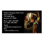 SUNRISE ON WESTERN GEAR BUSINESS CARDS COWBOY HAT