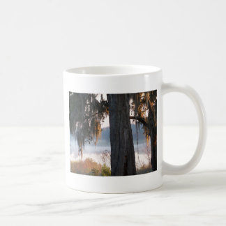Sunrise over a small lake in the South Coffee Mug