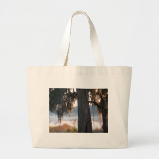 Sunrise over a small lake in the South Large Tote Bag
