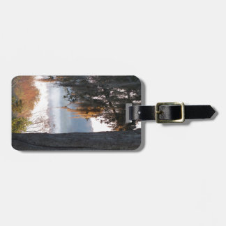 Sunrise over a small lake in the South Luggage Tag