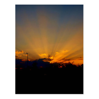Sunrise over Alabama Postcard