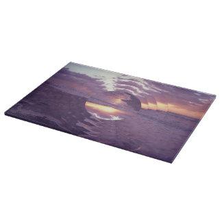 Sunrise Over Atlantic Ocean Cutting Board