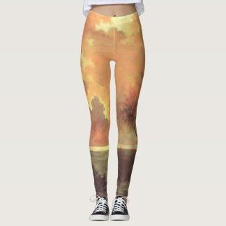'Sunrise Over Diamond Head' Leggings