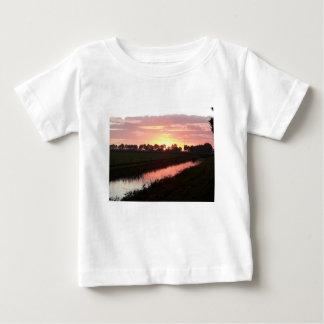 Sunrise Over Farmland Baby T-Shirt