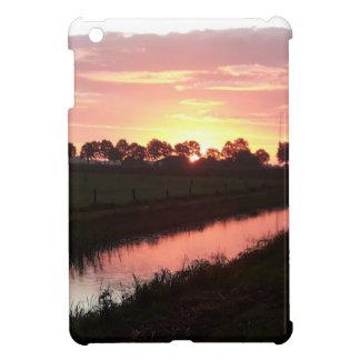 Sunrise Over Farmland iPad Mini Covers
