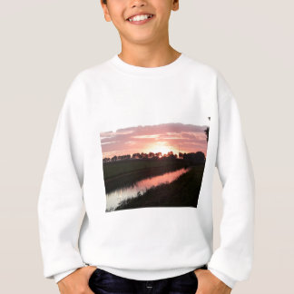 Sunrise Over Farmland Sweatshirt
