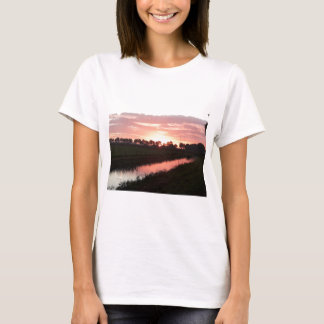 Sunrise Over Farmland T-Shirt