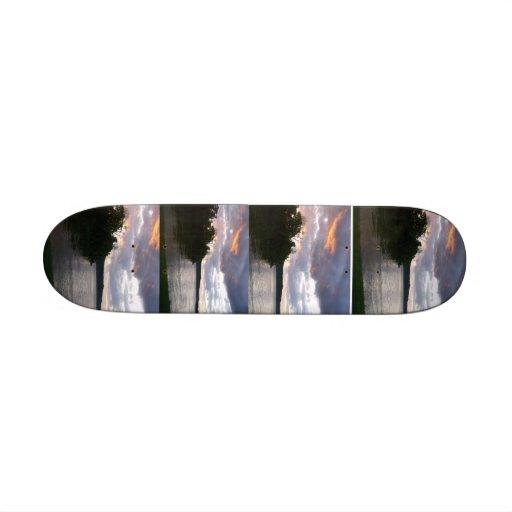 Sunrise Over Kentucky RIver Skateboard