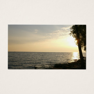 Sunrise Over Lake Erie Business Card