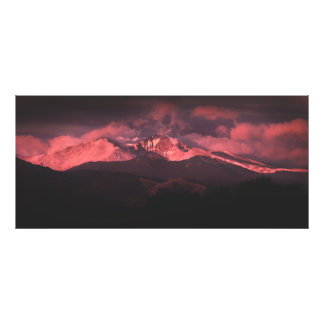 Sunrise Over Longs Peak, Colorado Photo Print