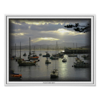 Sunrise Over Monterey Bay Print