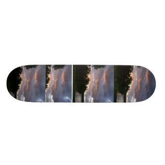 Sunrise over Point Park skateboard