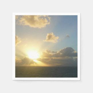 Sunrise over San Juan II Puerto Rico Napkin
