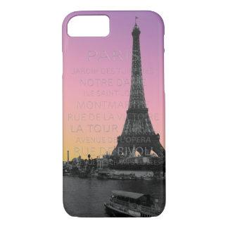 Sunrise Over the Eiffel Tower in Paris iPhone 7 Case