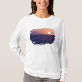 Sunrise Over The Malaga Bay T-Shirt