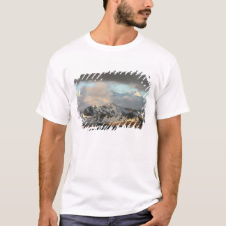 Sunrise over the mountain ranges on South 2 T-Shirt