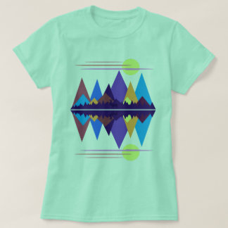 Sunrise Over The Mountains #2 T-Shirt